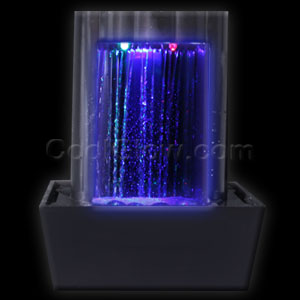 LED Illuminated Rectangular Fountain