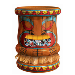 Inflatable Tiki Deluxe Cooler - 4ft