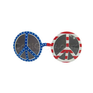 Patriotic Peace Sign Sunglasses
