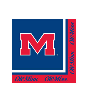 Mississippi Luncheon Napkins