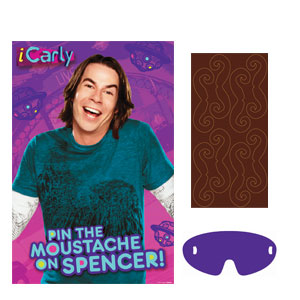 iCarly Party Game- 4pc
