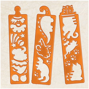 Thanksgiving Tracing Strip Favors- 12ct