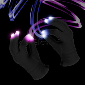 LED Magic Gloves
