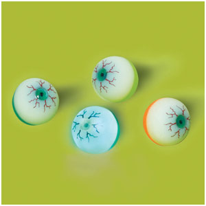 Light-Up Eyeball Bounce Ball