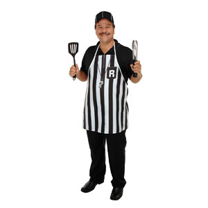 Referee Fabric Novelty Apron
