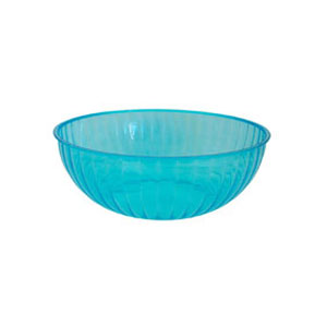 Neon 192 Ounce Plastic Party Bowl - Blue