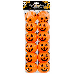 Pumpkin Treat Pails- 12ct