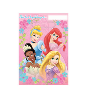 Disney Princess Folded Loot Bags- 8ct