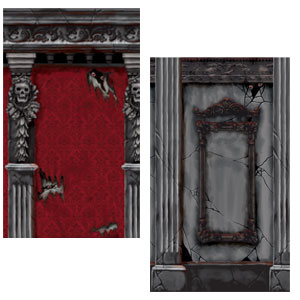 Gothic Mansion 2 Pack Room Roll  20ft