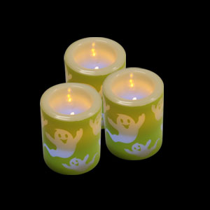 LED Votive Candle - Ghosts