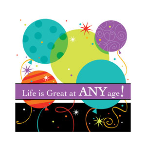 Life is Great Luncheon Napkins - 16ct