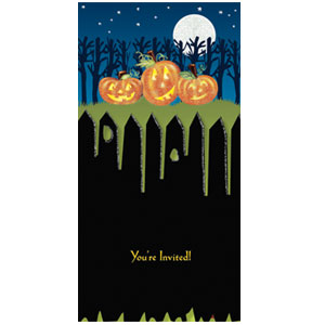 Pumpkins Invitation- 8ct