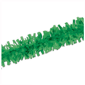 Green Tissue Festooning - 25ft