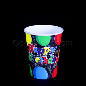 Birthday Balloons 9 oz. Cups