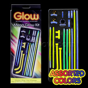 Fun Central M970 Glow in the Dark Party Kit
