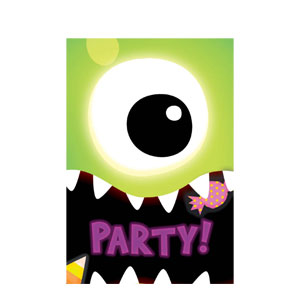 Boo Crew Invitation Value Pack- 20ct
