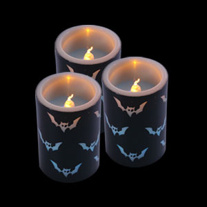 LED Votive Candle - Bats