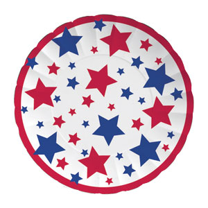 Freedom Stars Paper Tray- 11in