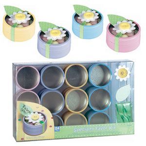 Tin Baby Shower Favor - Multi