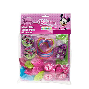Disney Minnie Mouse Favor Pack- 48pc