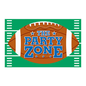 Football Giant Party Sign- 78in