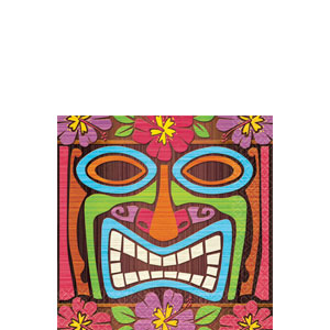 Tiki Time Beverage Napkins- 16ct