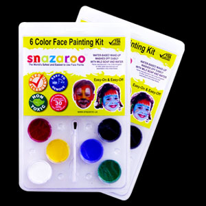 6 Color Face Painting Kit