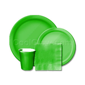 Emerald Green Tableware Kit
