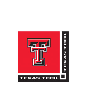 Texas Tech Beverage Napkins