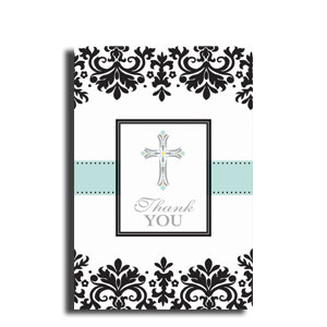 Confirmation Postcard Thank You Cards- 20ct