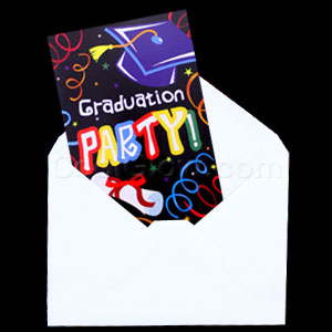Grad Party Invitations - 8 ct