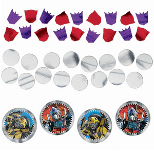 Transformers 3 Confetti- Assorted