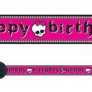 Monster High Crepe Streamer- 30ft