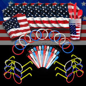 4th of July Glow Party Package - Bronze