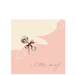 Little Angel Luncheon Napkins