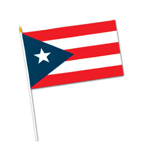 Puerto Rican Flag- 18in