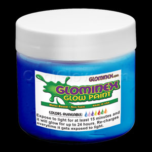 Glow Body Paint Pint - Blue