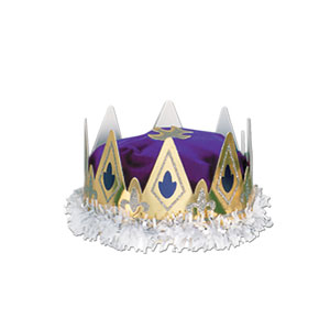 Royal Queen Crown - Purple