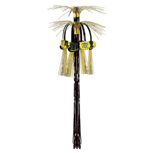 New Year Hanging Cascade Column - Gold