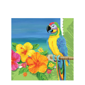Tropical Luncheon Napkins- 16ct