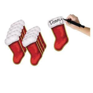 Christmas Stocking Cutouts - 10ct