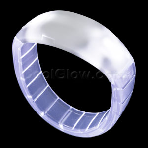 LED Bangle Bracelets - White