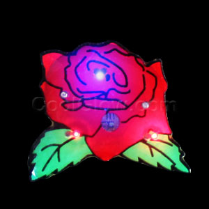 Flashing Rose Blinky