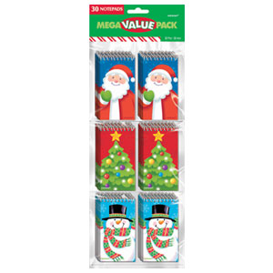Christmas Notepads- 30ct