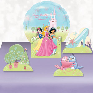 Disney Princess Balloon Centerpiece