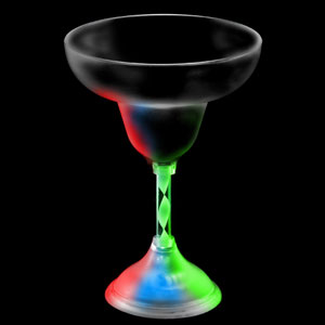 LED Margarita Glass - 10 oz.