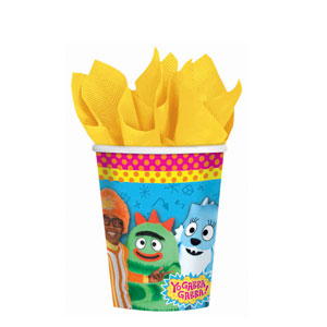 Yo Gabba Gabba 9 oz. Cups- 8ct