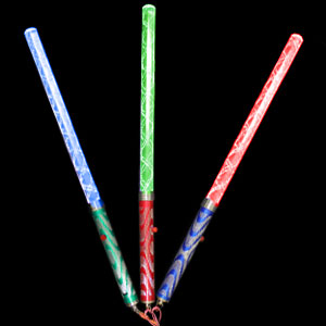 Fun Central I509 LED Light Up Bubble Wand - Multicolor