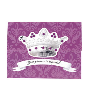 Her Majesty Large Invitations - 8ct