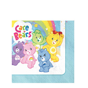 Care Bears Luncheon Napkins- 16ct